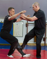 Sifu Ashley Phillips Teaches and trains at the UK Wing Chun Assoc. Hq in Rayleigh Essex.
