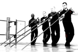 Advanced Wing Chun Group Photo Pole Training