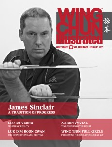 Wing Chun Master James Sinclair featured in Wing Chun Illustrated