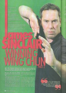 James Sinclair Major Interview in Martial Arts Illustrated