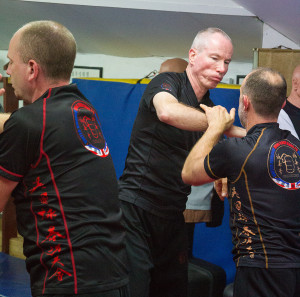 UKWCKFA Wing Chun training T-Shirt is perfectly designed for Chi Sau practice.
