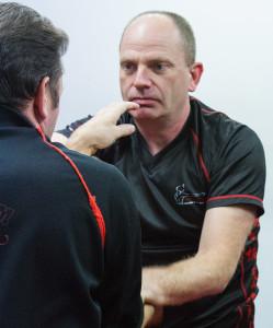 UKWCKFA Poly V-Neck T-Shirt is perfectly designed for Wing Chun Kung Fu training
