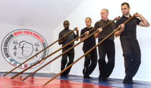 Wing Chun Pole training is a large part of the advanced syllabus within the UKWCKFA