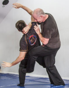 Technique from the advanced Wing Chun Class Structure
